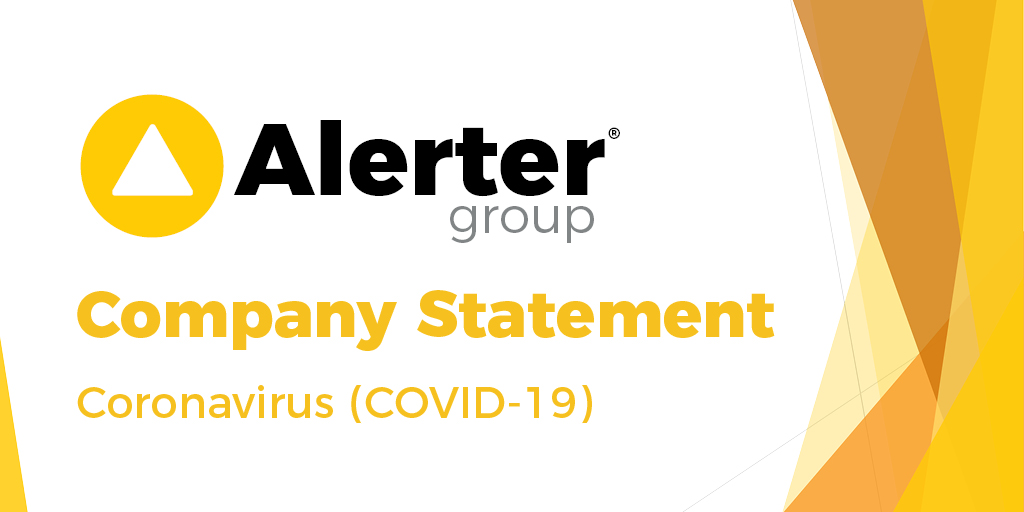 Alerter Group Coronavirus Statement