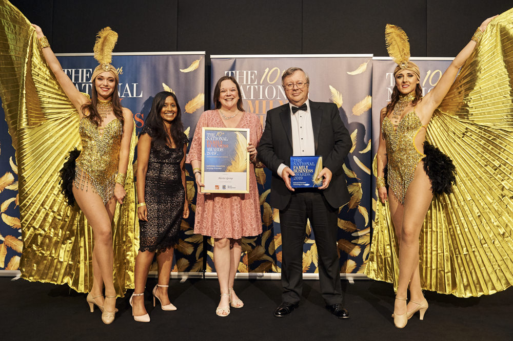Derby Family Business, Alerter Group, announced national winners at prestigious awards night!